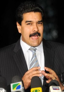 President of Venezuela Nicolas Maduro who took office after the death of Hugo Chávez in 2013 (Photo Credit:  Agência Brasil)