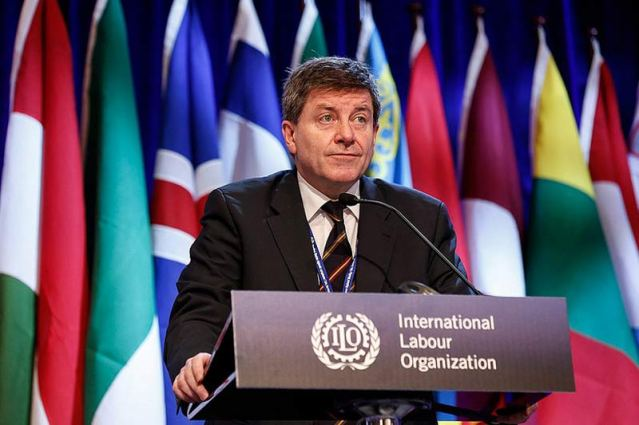 International Labour Organization (ILO) Director-General, Guy Ryder. (Photo Credit: ILO)