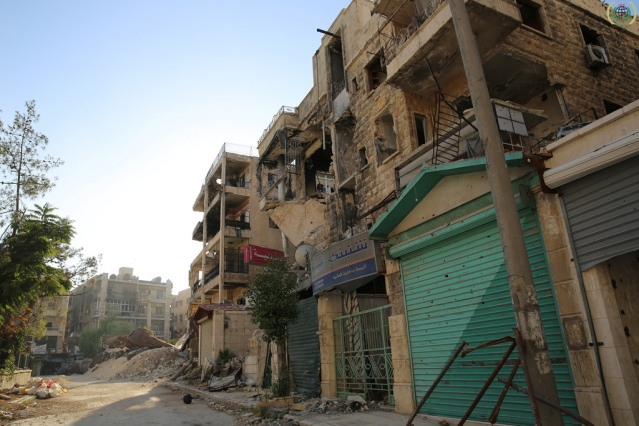 Syria, Aleppo (Photo Credit: IHH Humanitarian Relief Foundation)