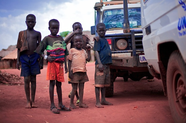 South Sudan children (Photo Credit: Arsenie Coseac/ Flickr)