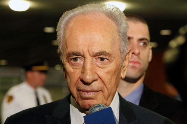 Shimon Perez, President of Israel
