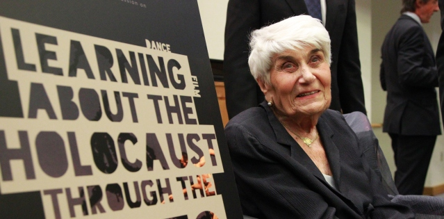 Holocaust survivor Naomi Warren (Photo Credit: UN Photo/Paulo Filgueiras)